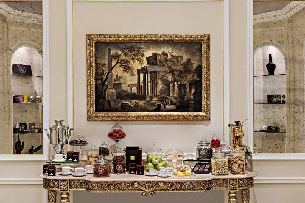 The St. Regis Rome Luxury Hotel - Rome, Italy - Principe Room Coffee Break