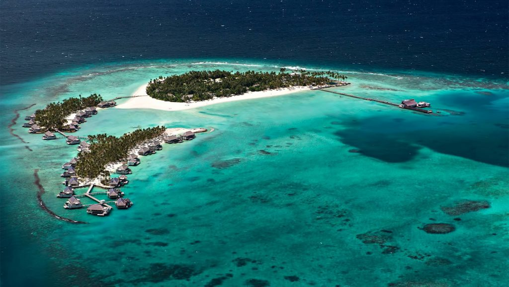 Cheval Blanc Randheli Luxury Resort - Noonu Atoll, Maldives - Resort Aerial View
