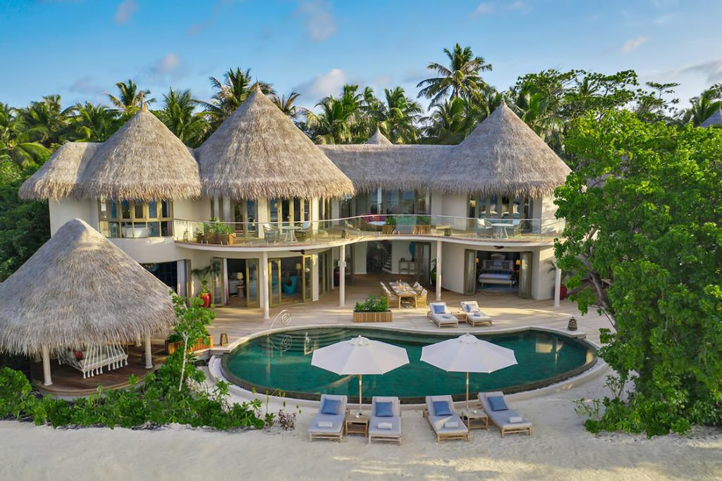 The Nautilus Maldives Luxury Resort - Thiladhoo Island, Maldives - Oceanfront Mansion