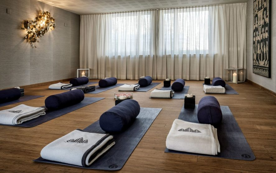Tschuggen Grand Luxury Hotel - Arosa, Switzerland - Yoga Studio