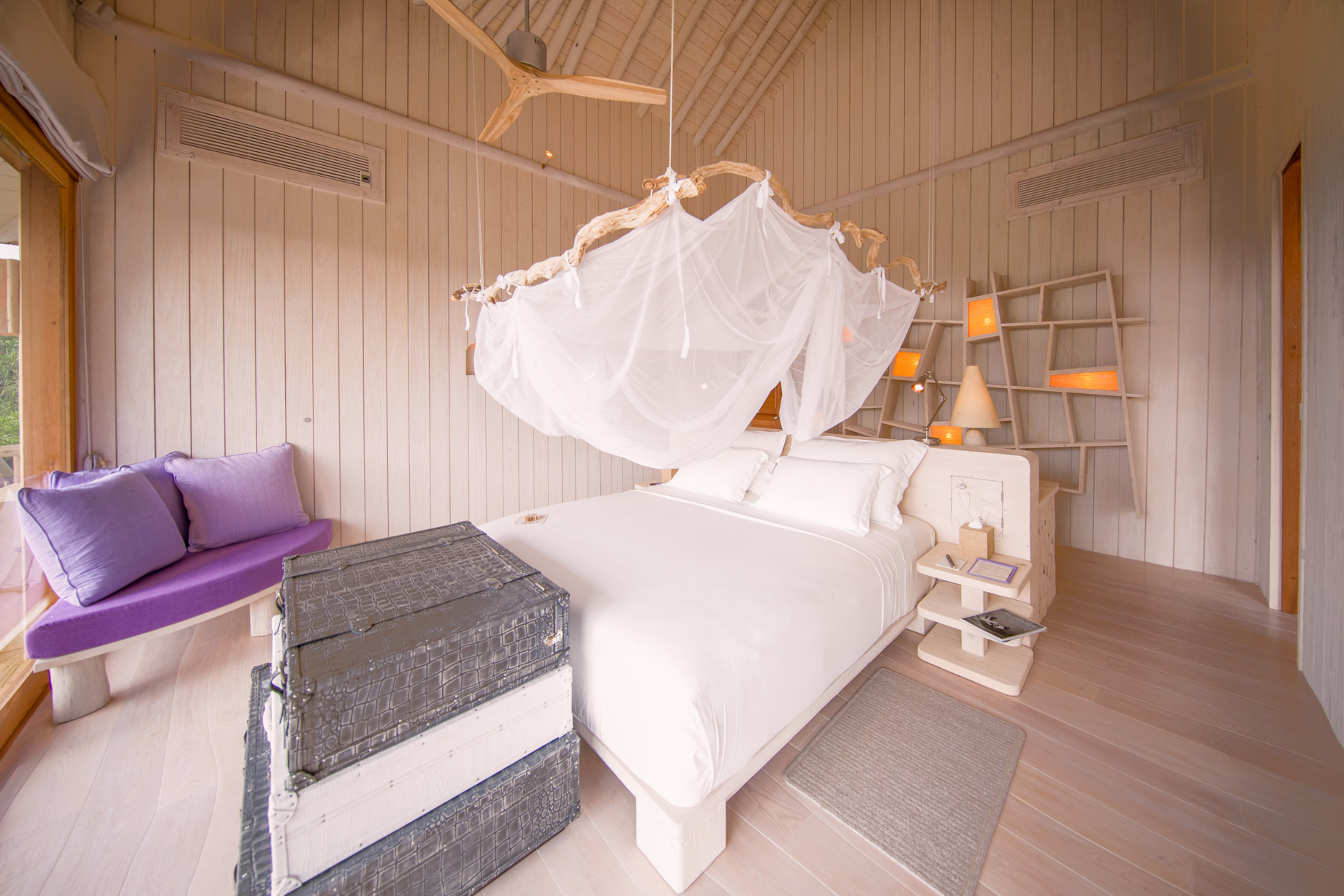 Soneva Jani Luxury Resort – Noonu Atoll, Medhufaru, Maldives – 2 Bedroom Crusoe Residence Island Villa Upper Deck Bedroom