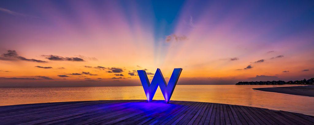 W Maldives Luxury Resort - Fesdu Island, Maldives - W Resort Sunset