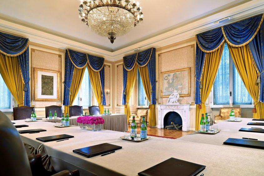 The St. Regis Rome Luxury Hotel - Rome, Italy - Sala Venezia