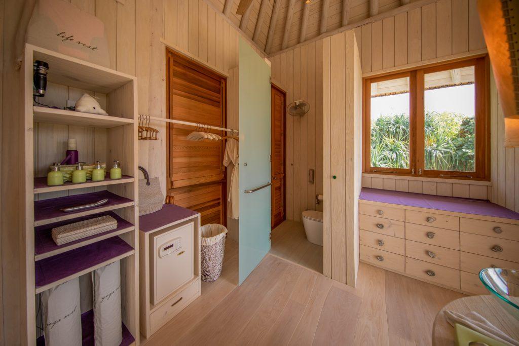 Soneva Jani Luxury Resort - Noonu Atoll, Medhufaru, Maldives - 2 Bedroom Crusoe Residence Island Villa Bathroom