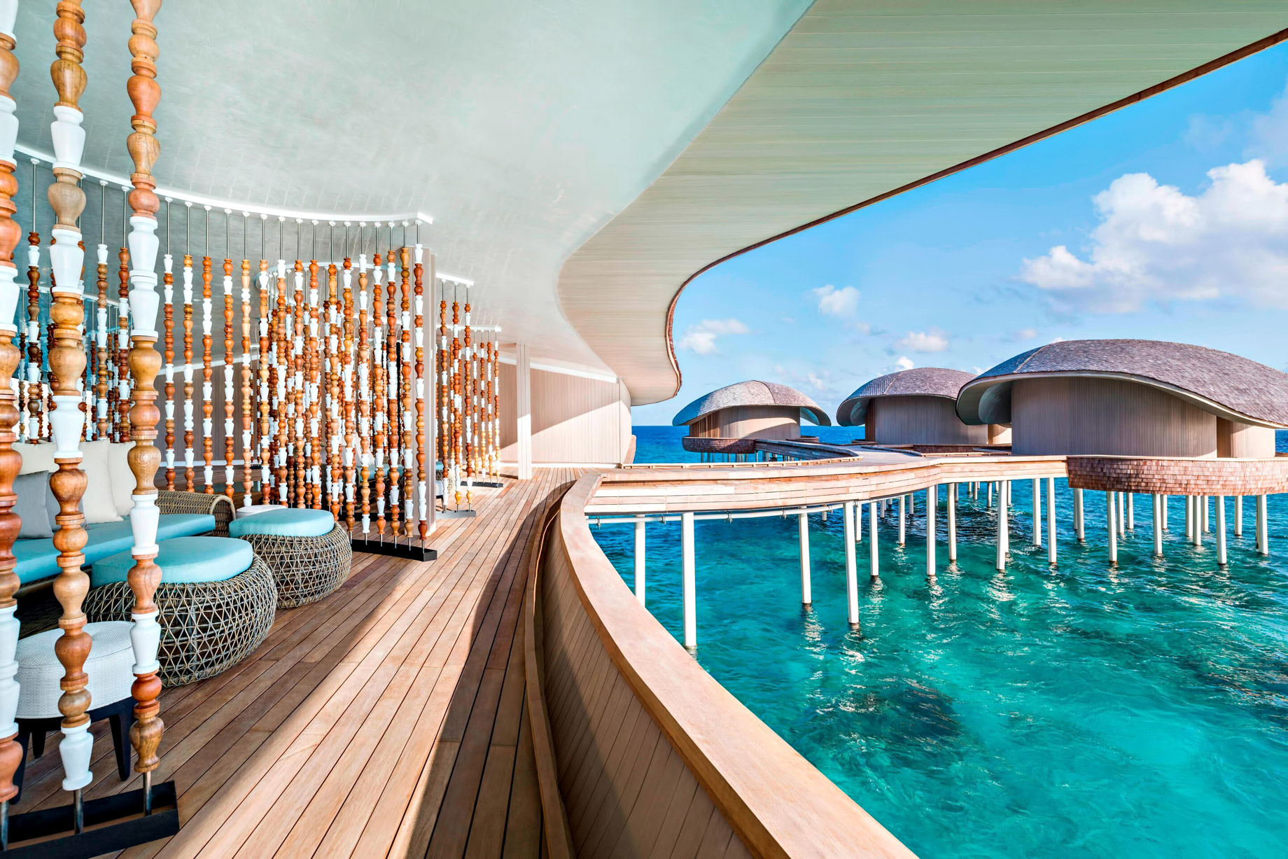 The St. Regis Maldives Vommuli Luxury Resort - Dhaalu Atoll, Maldives - Iridium Spa Treatment Rooms