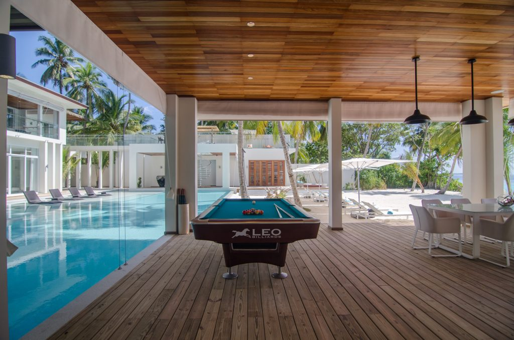 Amilla Fushi Luxury Resort and Residences - Baa Atoll, Maldives - Amilla Beachfront Estate Pool Table
