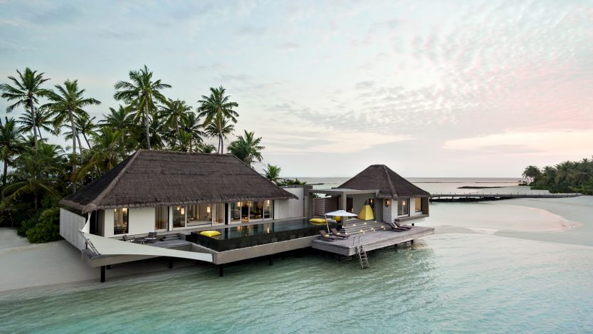 Cheval Blanc Randheli Luxury Resort - Noonu Atoll, Maldives - Garden Water Villa