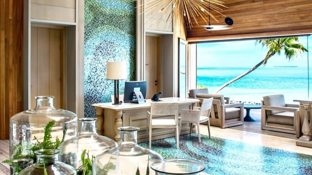 The St. Regis Maldives Vommuli Luxury Resort - Dhaalu Atoll, Maldives - Reception