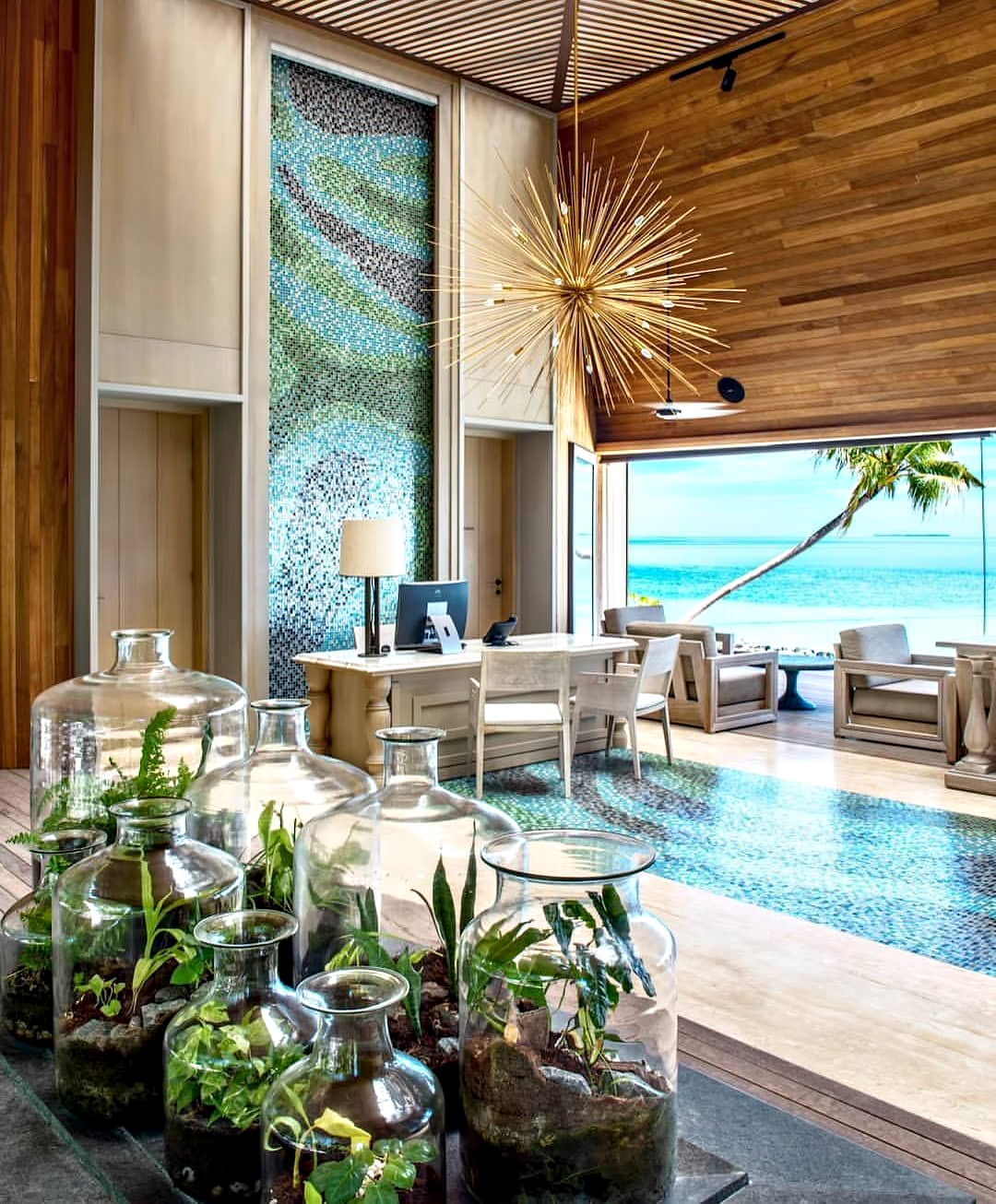 The St. Regis Maldives Vommuli Luxury Resort - Dhaalu Atoll, Maldives - Reception
