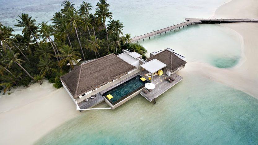 Cheval Blanc Randheli Luxury Resort - Noonu Atoll, Maldives - Garden Water Villa Aerial