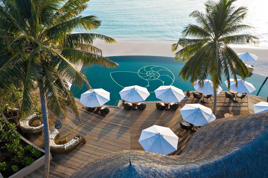 The Nautilus Maldives Luxury Resort - Thiladhoo Island, Maldives - Resort Oceanfront Pool