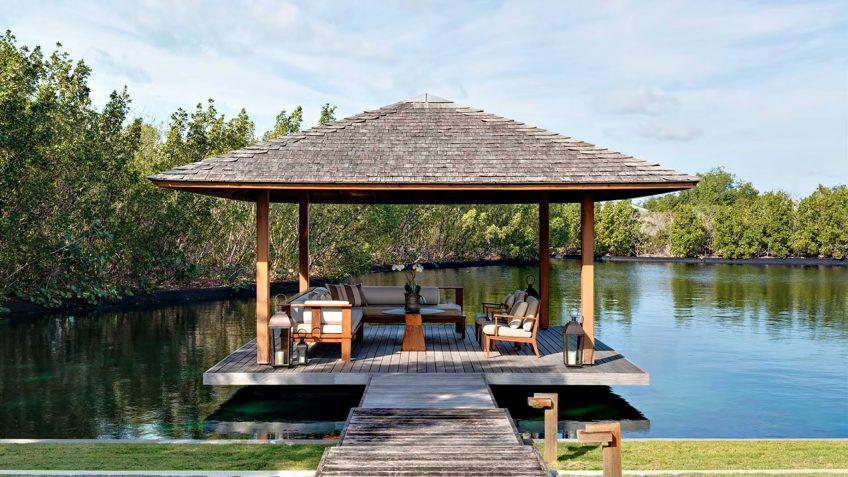Amanyara Luxury Resort - Providenciales, Turks and Caicos Islands - 6 Bedroom Amanyara Villa Overwater Lounge