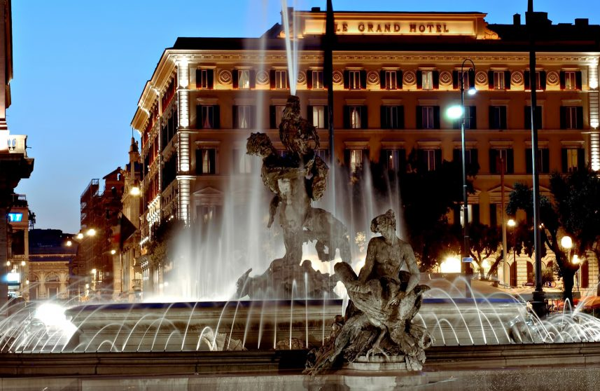 The St. Regis Rome Luxury Hotel - Rome, Italy - Exterior Facade