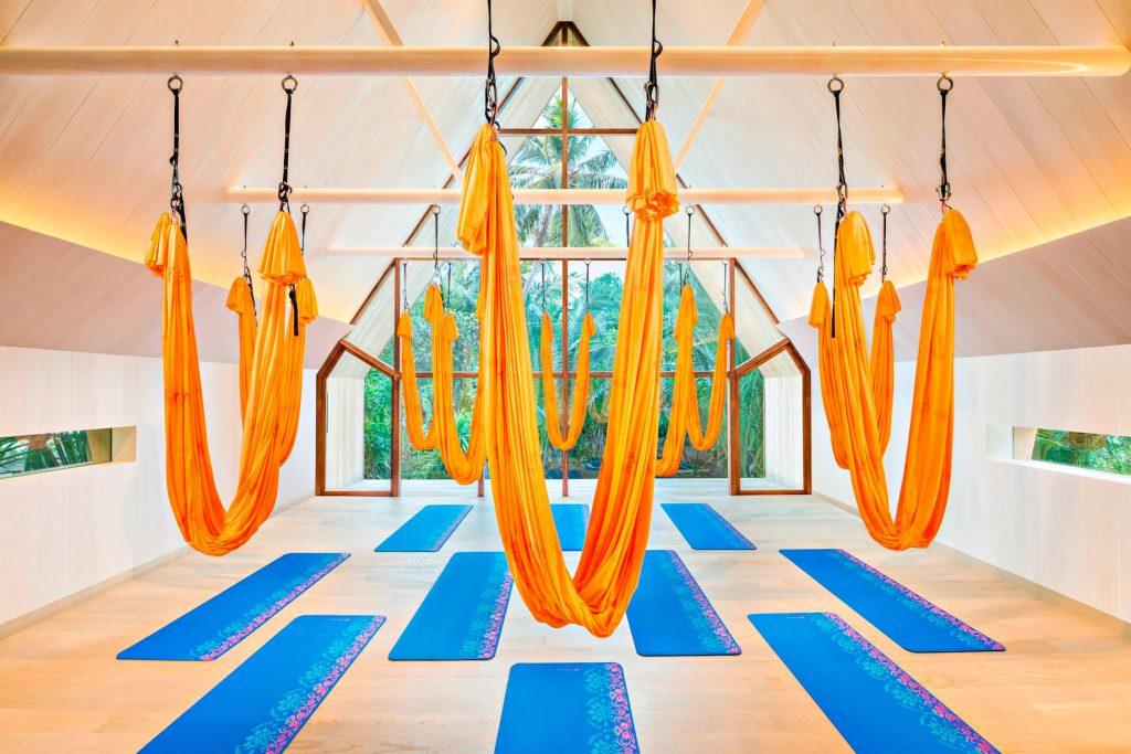 The St. Regis Maldives Vommuli Luxury Resort - Dhaalu Atoll, Maldives - Anti Gravity Yoga
