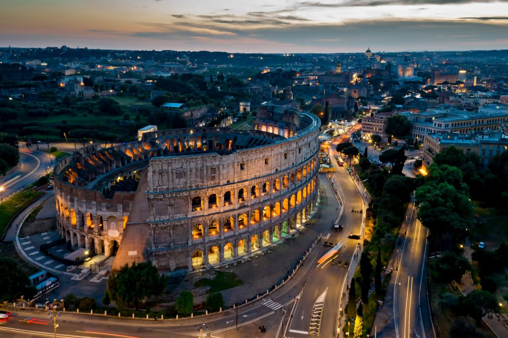 The St. Regis Rome Luxury Hotel - Rome, Italy - Nearby Attraction Coliseum