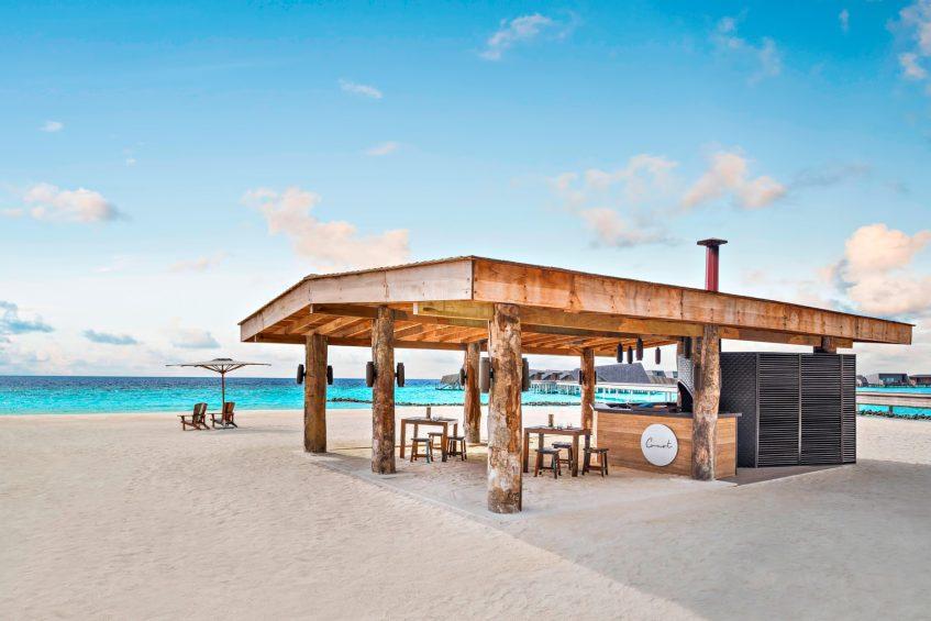 The St. Regis Maldives Vommuli Luxury Resort - Dhaalu Atoll, Maldives - Crust Restaurant Pizza