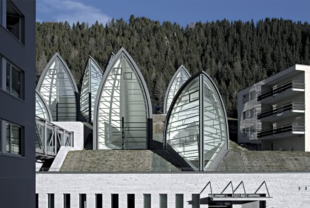 Tschuggen Grand Luxury Hotel - Arosa, Switzerland - Glass Sails