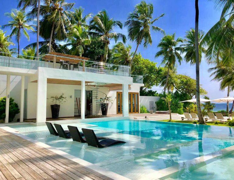 Amilla Fushi Luxury Resort and Residences - Baa Atoll, Maldives - Amilla Beach Estate Oceanfront Pool