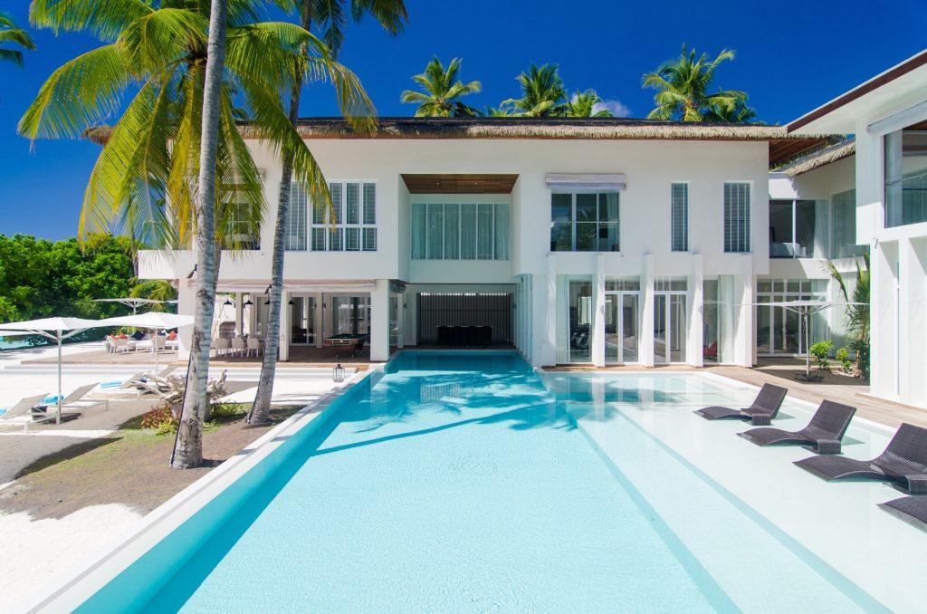Amilla Fushi Luxury Resort and Residences - Baa Atoll, Maldives - Amilla Beach Estate Pool