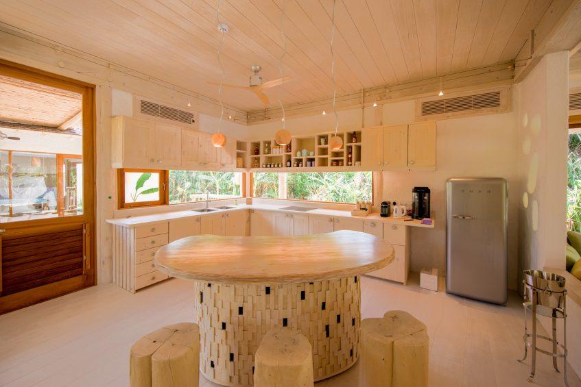 Soneva Jani Luxury Resort - Noonu Atoll, Medhufaru, Maldives - 2 Bedroom Crusoe Residence Island Villa Kitchen