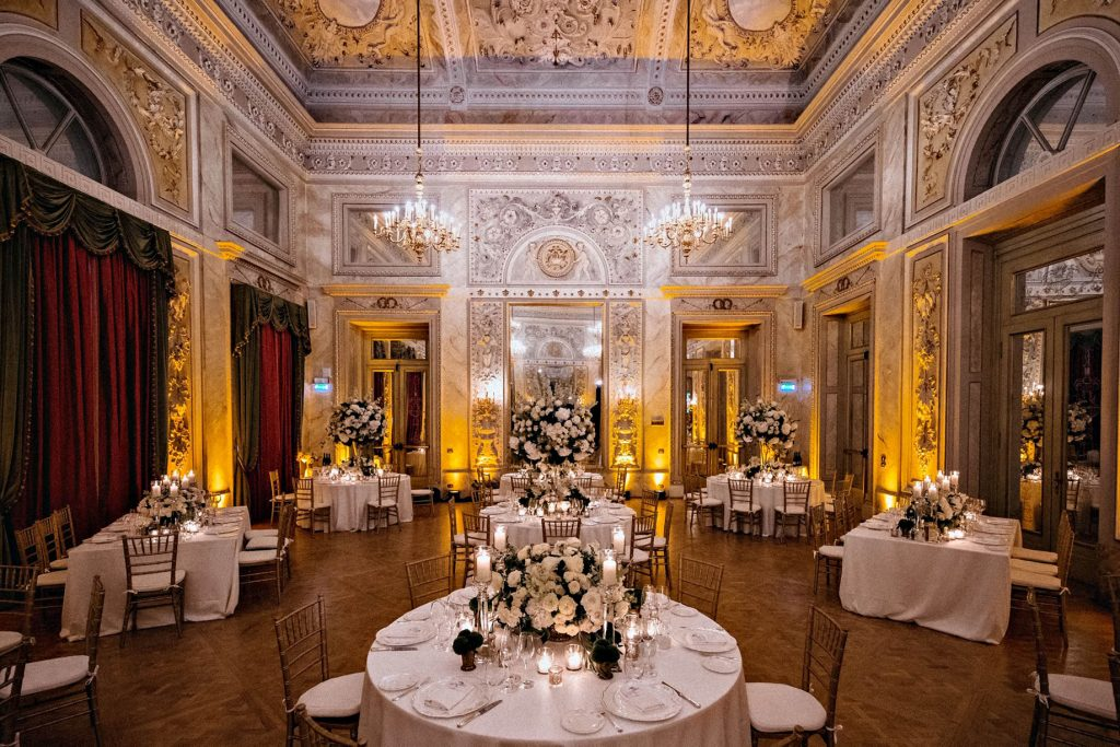 The St. Regis Florence Luxury Hotel - Florence, Italy - Night Salone delle feste