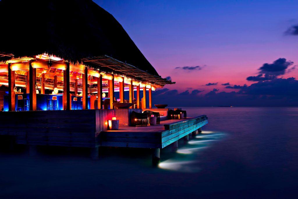 W Maldives Luxury Resort - Fesdu Island, Maldives - SIP Bar Night