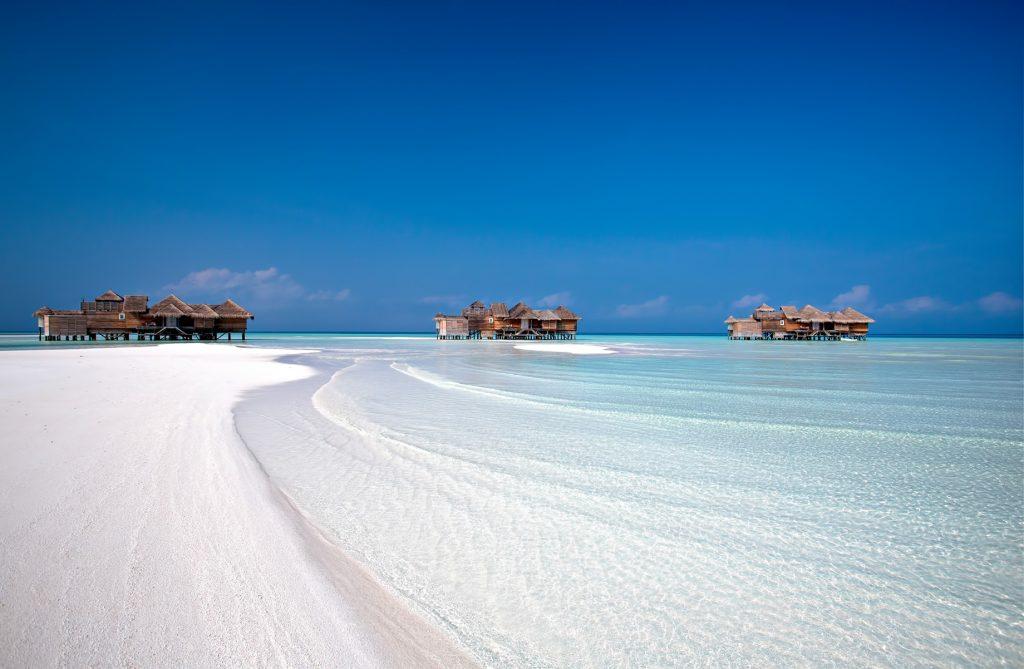 Gili Lankanfushi Luxury Resort - North Male Atoll, Maldives - White Sand Beach Overwater Villa View