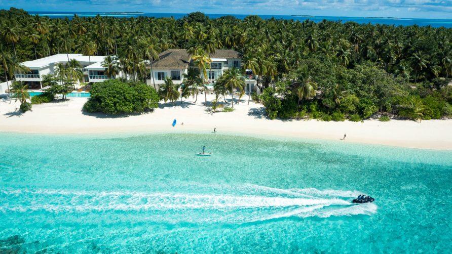 Amilla Fushi Luxury Resort and Residences - Baa Atoll, Maldives - Amilla Oceanfront Estate Beach Aerial