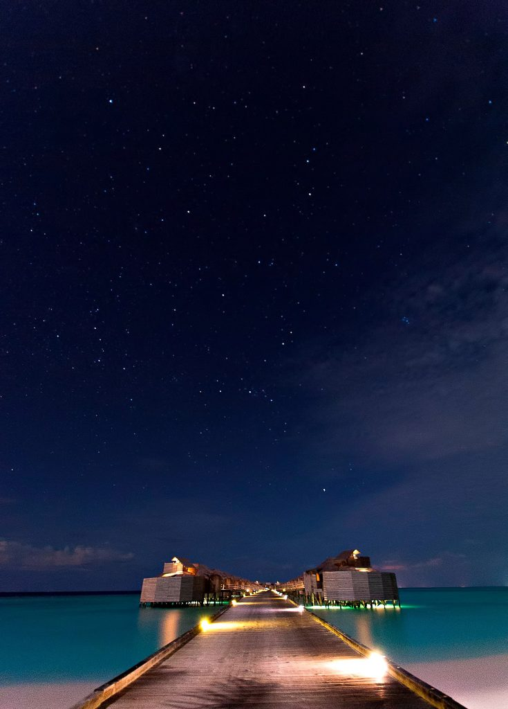 Six Senses Laamu Luxury Resort - Laamu Atoll, Maldives - Resort Overwater Villa Starlight View