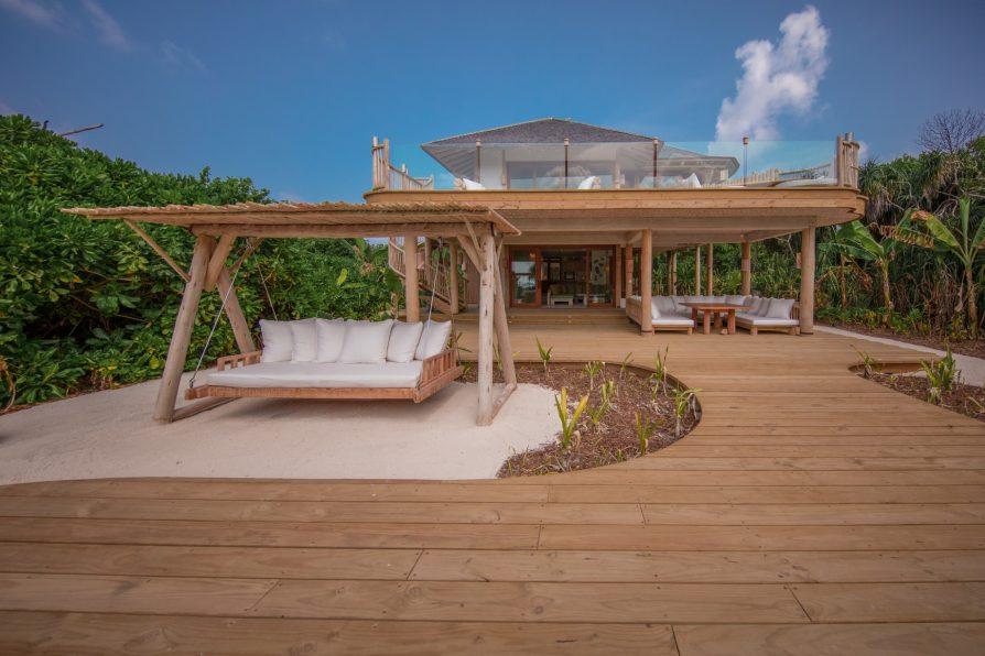 Soneva Jani Luxury Resort - Noonu Atoll, Medhufaru, Maldives - 2 Bedroom Crusoe Residence Island Villa Outdoor Deck
