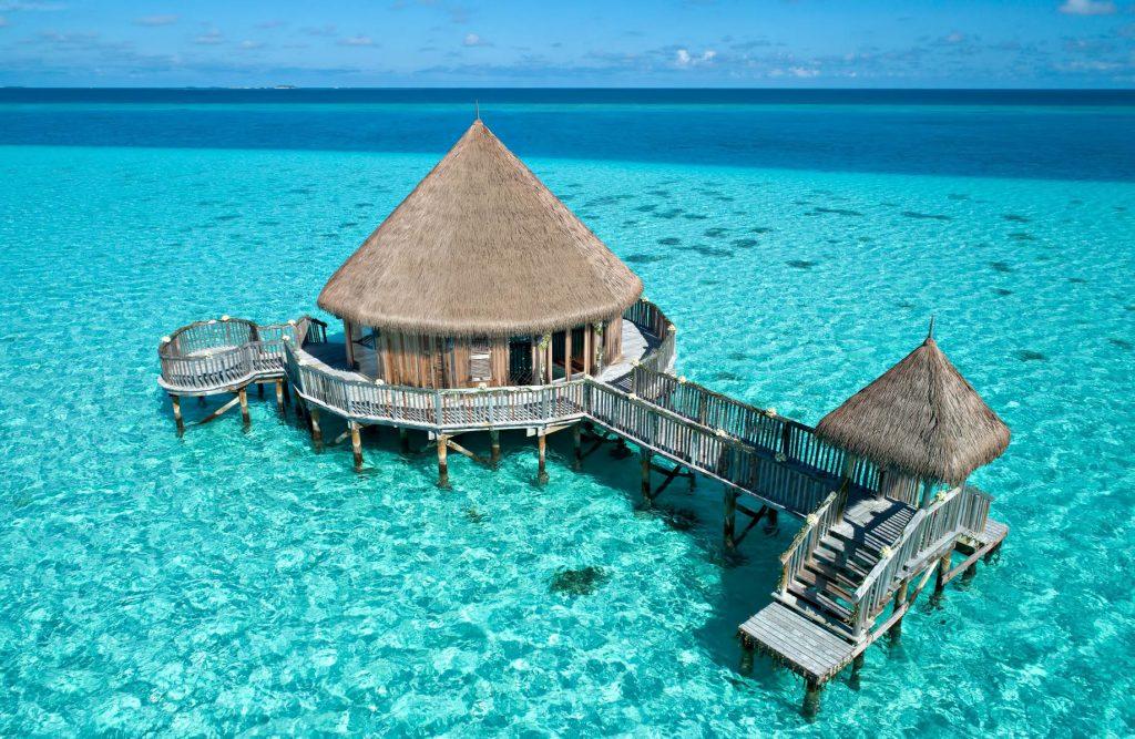 Gili Lankanfushi Luxury Resort - North Male Atoll, Maldives - Lagoon Champa Wedding Chapel Pavilion