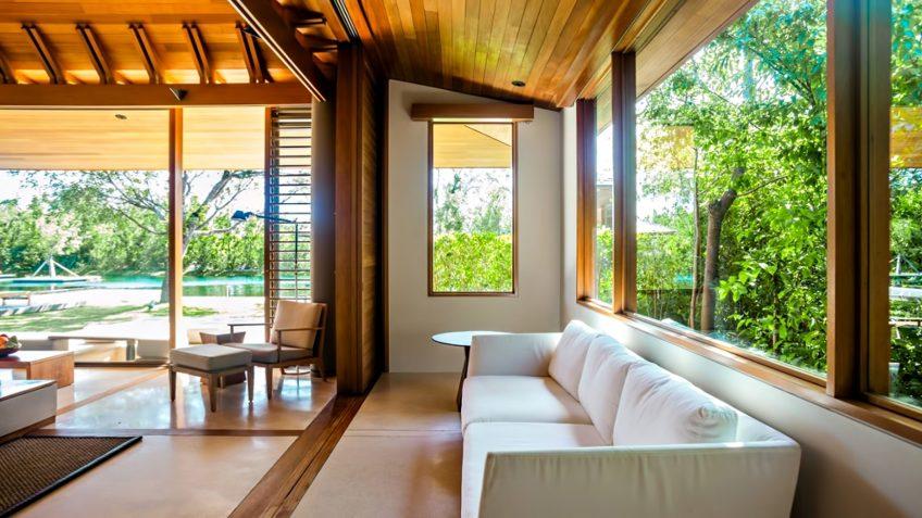 Amanyara Luxury Resort - Providenciales, Turks and Caicos Islands - 3 Bedroom Tranquility Villa Lounge