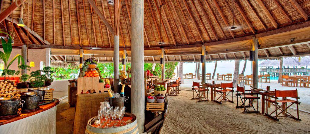 Gili Lankanfushi Luxury Resort - North Male Atoll, Maldives - Beachfront Restaurant