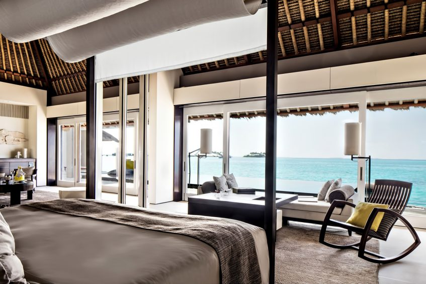 Cheval Blanc Randheli Luxury Resort - Noonu Atoll, Maldives - Overwater Villa Bedroom Ocean View
