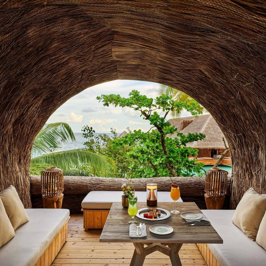 Joali Maldives Luxury Resort - Muravandhoo Island, Maldives - Tropical Dining