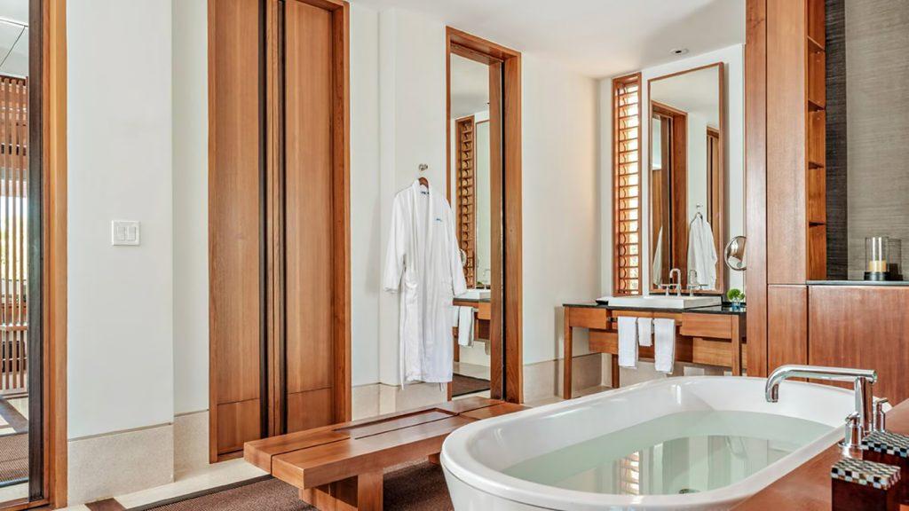 Amanyara Luxury Resort - Providenciales, Turks and Caicos Islands - 3 Bedroom Tranquility Villa Bathroom