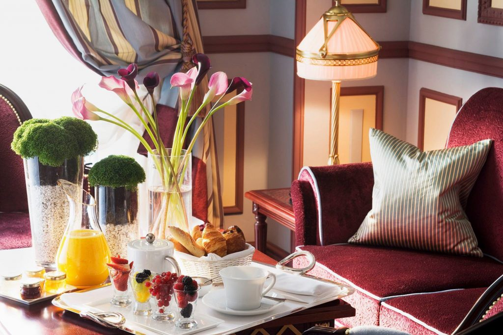 InterContinental Bordeaux Le Grand Hotel - Bordeaux, France - Royal Suite Breakfast
