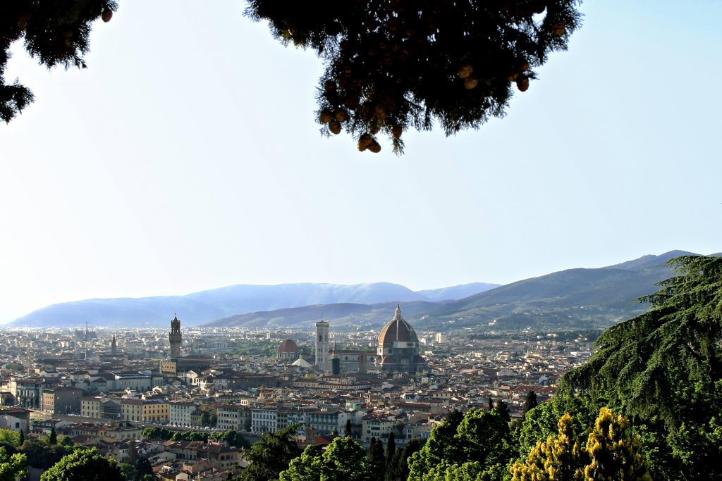 The St. Regis Florence Luxury Hotel - Florence, Italy - San Miniato dal Monte View