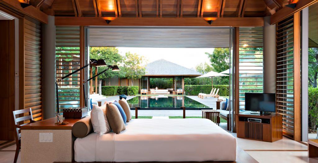 Amanyara Luxury Resort - Providenciales, Turks and Caicos Islands - 3 Bedroom Tranquility Villa Bedroom