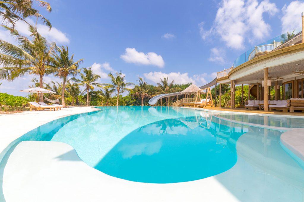 Soneva Jani Luxury Resort - Noonu Atoll, Medhufaru, Maldives - 3 Bedroom Island Reserve Villa Pool
