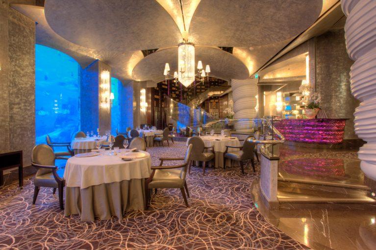 Atlantis The Palm Luxury Resort - Crescent Rd, Dubai, UAE - Ossiano Restaurant