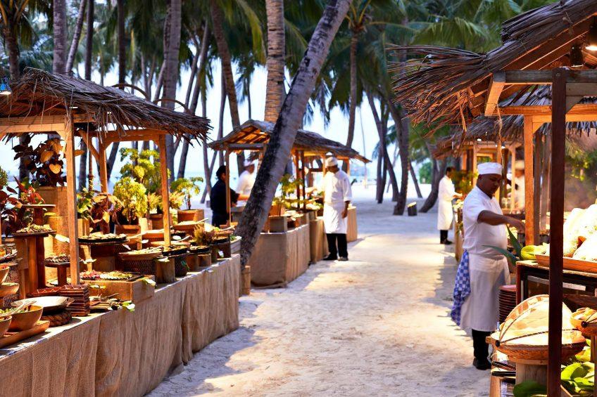 Gili Lankanfushi Luxury Resort - North Male Atoll, Maldives - Beachfront Dining Experience