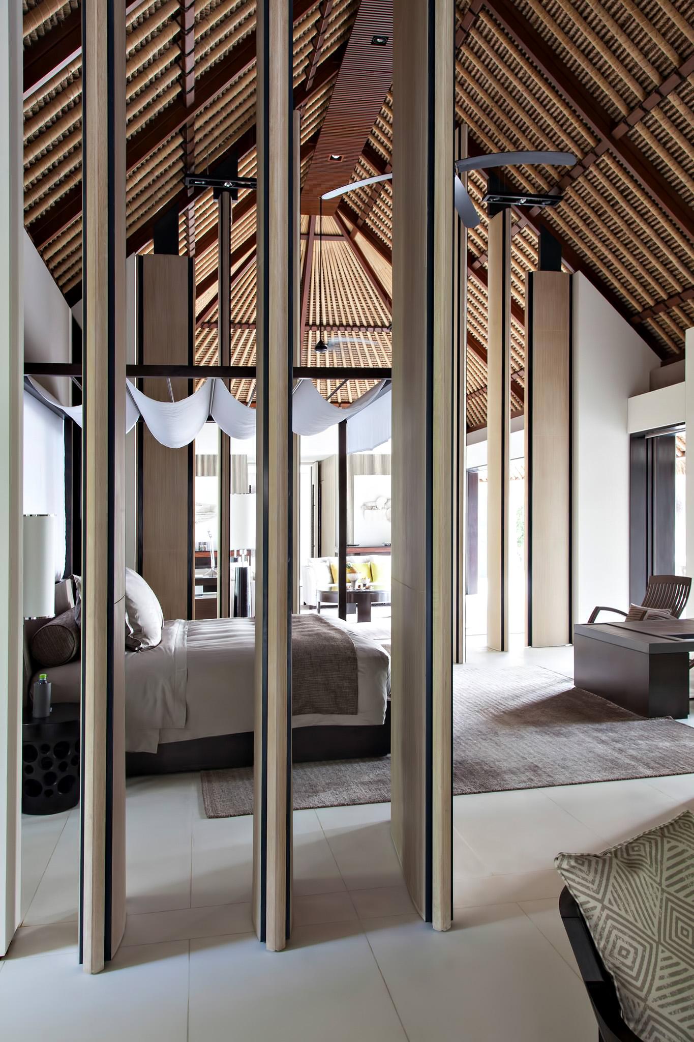 Cheval Blanc Randheli Luxury Resort – Noonu Atoll, Maldives – Overwater Villa Bedroom