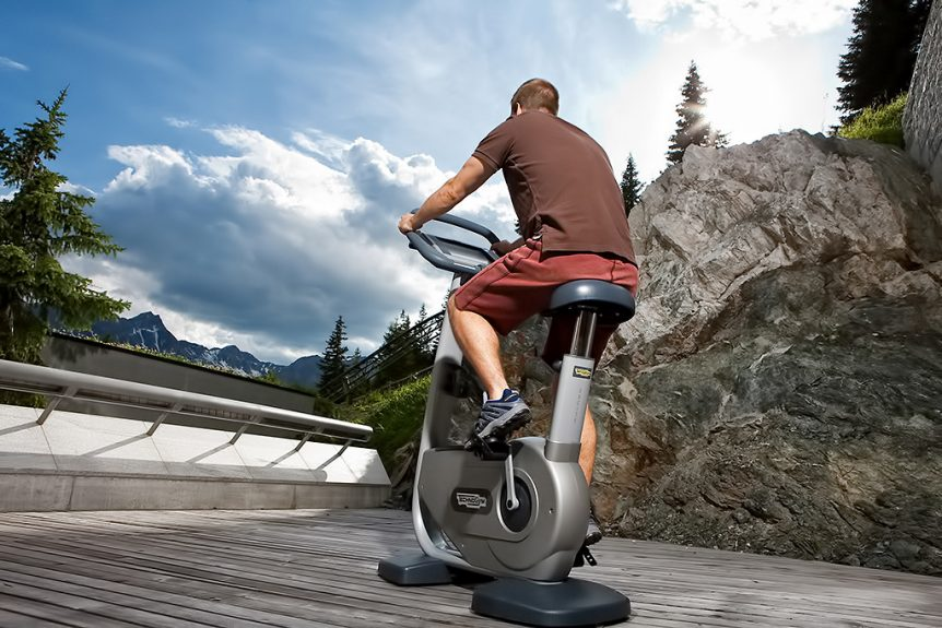 Tschuggen Grand Luxury Hotel - Arosa, Switzerland - Exercise Bike