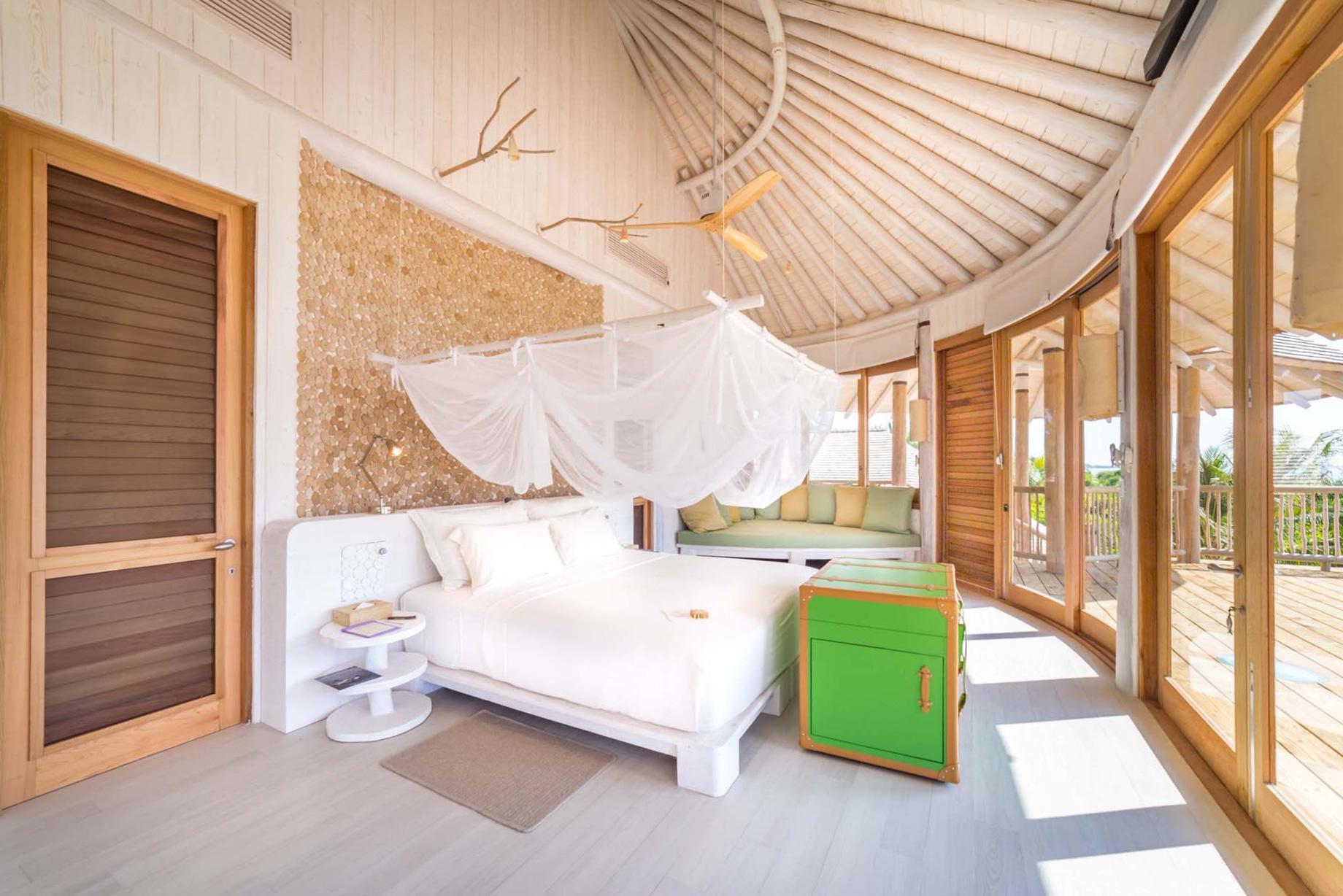 Soneva Jani Luxury Resort – Noonu Atoll, Medhufaru, Maldives – 3 Bedroom Island Reserve Villa Bedroom
