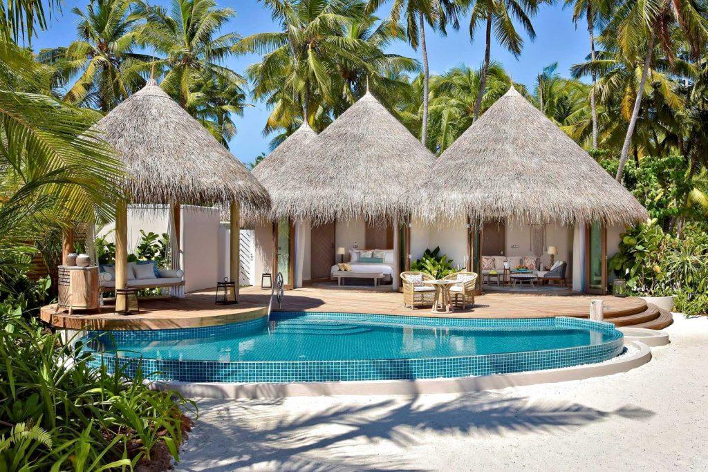 The Nautilus Maldives Luxury Resort - Thiladhoo Island, Maldives - Beach House Private Pool
