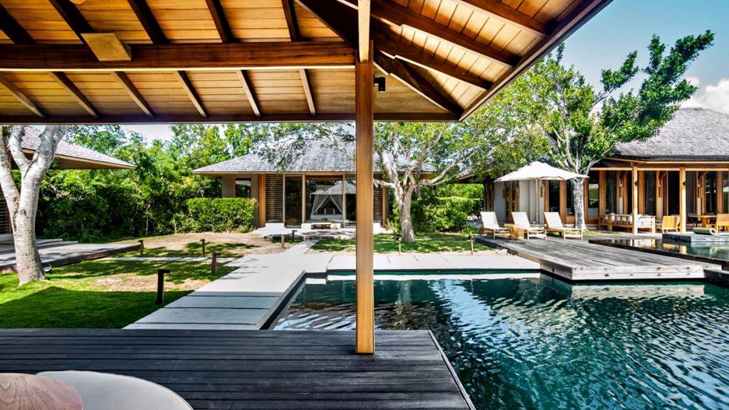 Amanyara Luxury Resort - Providenciales, Turks and Caicos Islands - 3 Bedroom Tranquility Villa Pool Deck