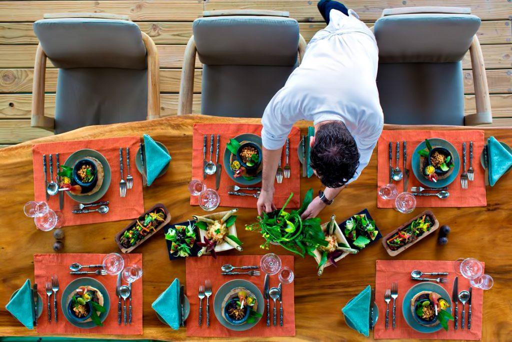 Gili Lankanfushi Luxury Resort - North Male Atoll, Maldives - Table Setting Dining Experience