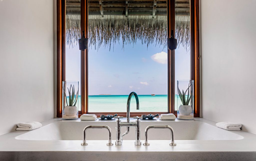 One&Only Reethi Rah Luxury Resort - North Male Atoll, Maldives - Wellness Spa Double Treatment Room Bath