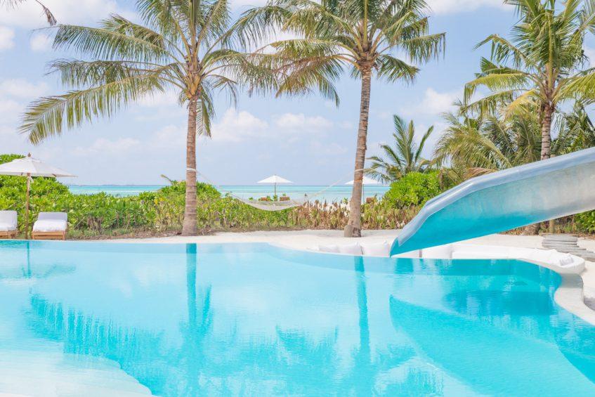 Soneva Jani Luxury Resort - Noonu Atoll, Medhufaru, Maldives - 3 Bedroom Island Reserve Villa Beachfront Pool Water Slide